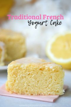 Traditional French Yogurt Cake (with Video)