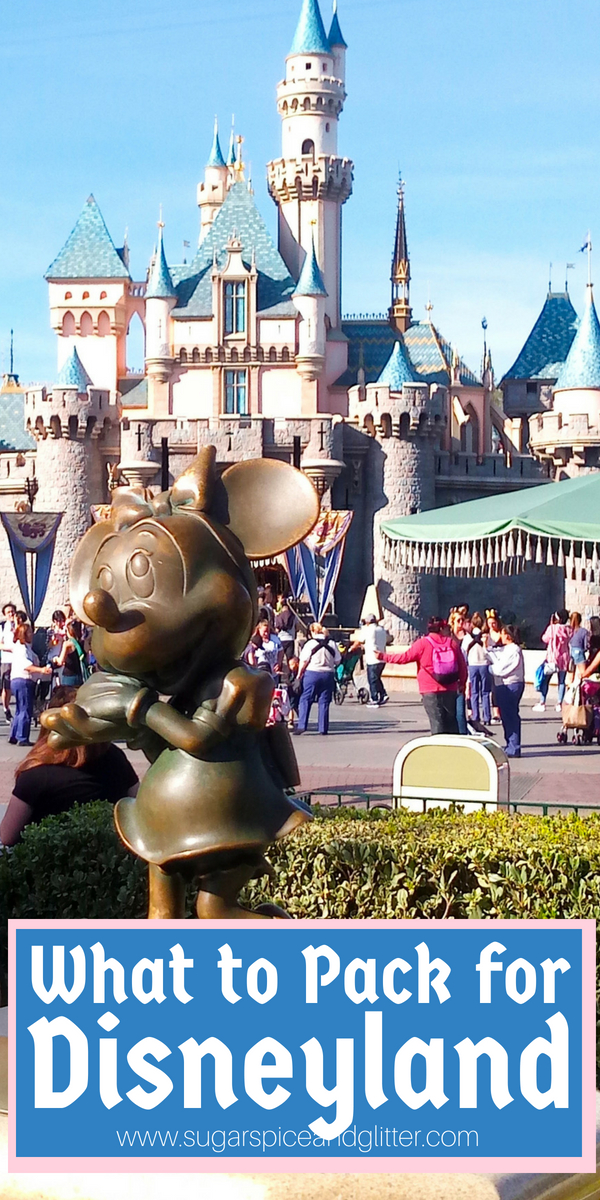 Disneyland Vacation Packing - everything you need to know to plan your stress-free Disney Vacation so that you bridge that fine gap between overpacking and forgetting essential items that will make or break your trip