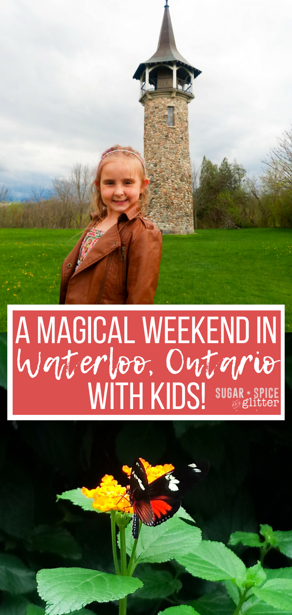 The best and most magical family attractions in Waterloo, Ontario for an amazing weekend with kids in Southwestern Ontario's hidden gem