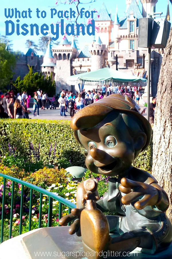 The best guide for everything you need for a Disneyland vacation - 37 must-pack items so that you can have a stress-free Disney vacation without overpacking