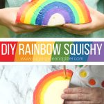 DIY Rainbow Squishy (with Video)