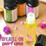 DIY Floral Roll-on Perfume