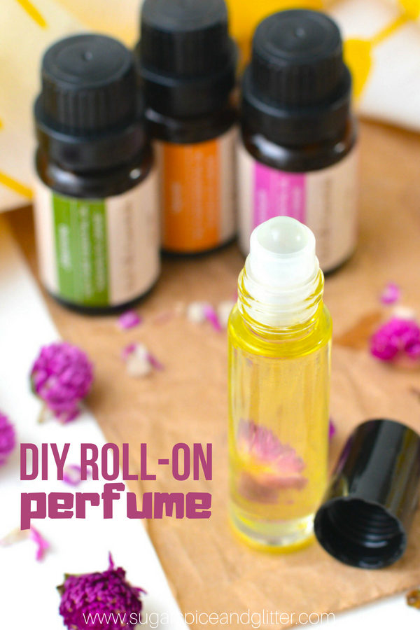 DIY Floral Roll-on Perfume
