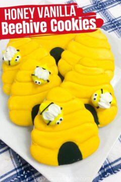 Beehive Honey Vanilla Sugar Cookies