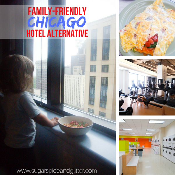 Budget-friendly Chicago hotel alternative - our family's go-to location for when we want a Chicago vacation on a budget
