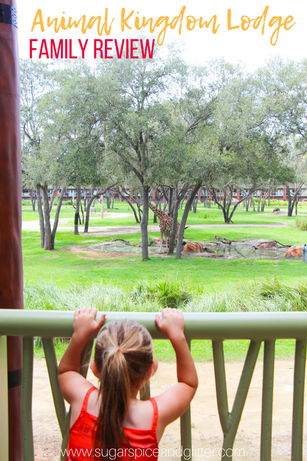 Animal Kingdom Lodge Review - the best Disney World Resort for animal lovers, AKL has it all: exotic animals, delicious food, and two pools with full bar and menu service! It's like visiting an African Lodge but just 10 minutes from Disney