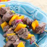 Greek Beef Kebabs