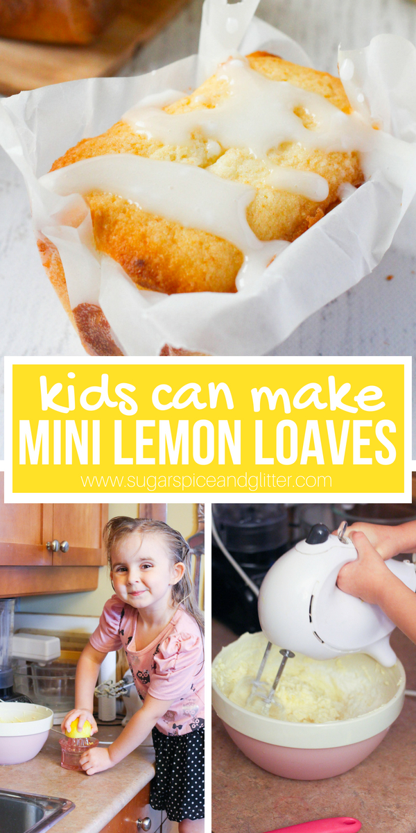 Glazed lemon bread, so simple - kids can make it! Grab a juicer and a mixer and stand back as kids make this bright and flavorful lemon loaf for tea time