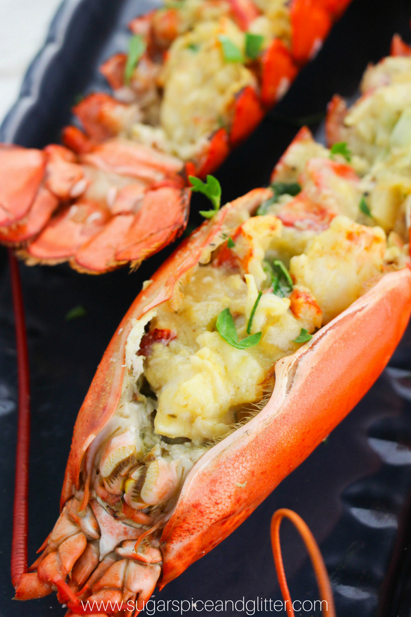 A simple version of Escoffier's classic Lobster Thermidor recipe