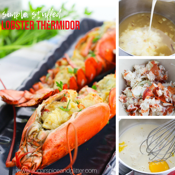 How to make homemade Lobster Thermidor in less than an hour