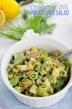 Creamy Potato Pea Salad