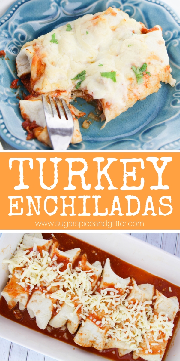 Healthy enchiladas are not an oxymoron! These ground turkey enchiladas made with homemade enchilada sauce are the perfect low-sodium option for those avoiding red meat but still wanting big flavor