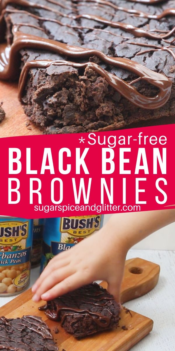 Who says going sugar-free needs to involve sacrifice? These protein-rich sugar-free black bean brownies are tasty, easy and can be whipped up in 5 minutes flat
