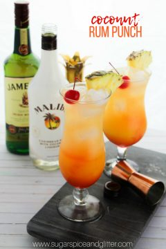 Coconut Rum Punch (with Video)