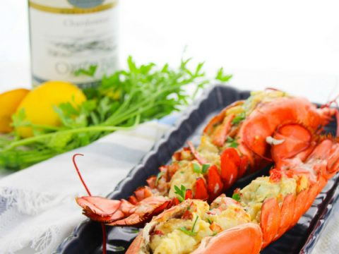 Simple Lobster Thermidor Recipe With Video Sugar Spice And Glitter