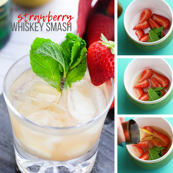 How to make a whiskey smash cocktail
