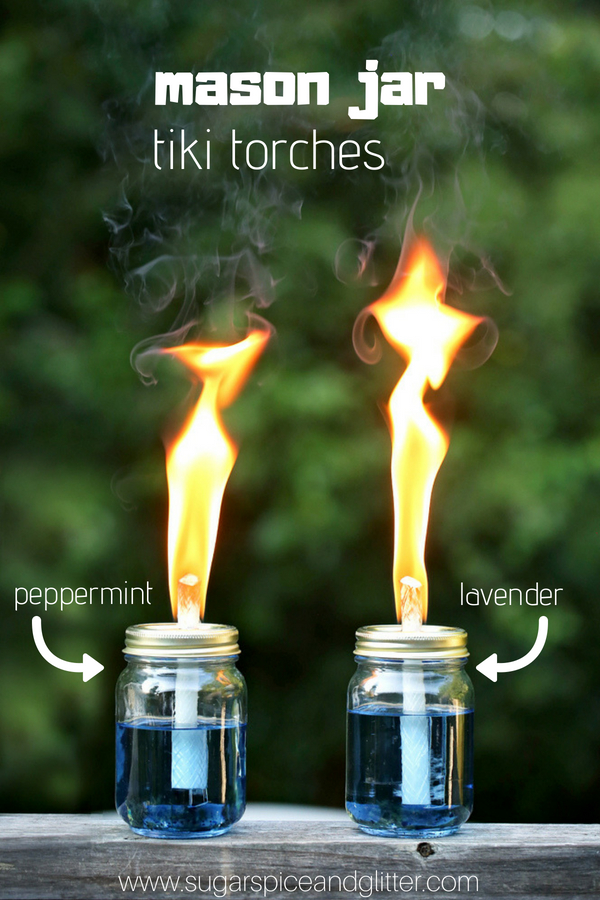 Diy Tiki Torches With Video Sugar Spice And Glitter