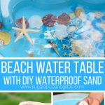 Beach Water Table Invitation (with Video)