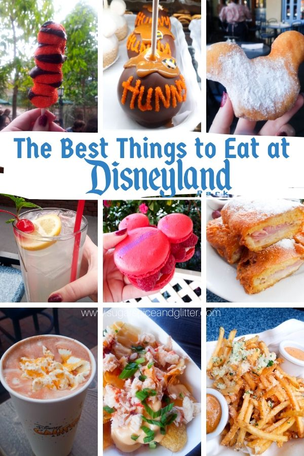 What to Eat at Disneyland - the best Disneyland food and drink on a budget, including a free printable bucket list for all the food recommendations