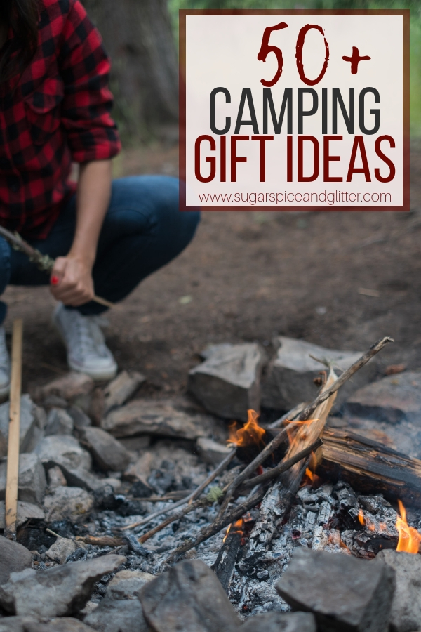 Gift Ideas for Campers, everything you need to set up camp - perfect for solo campers or family camping