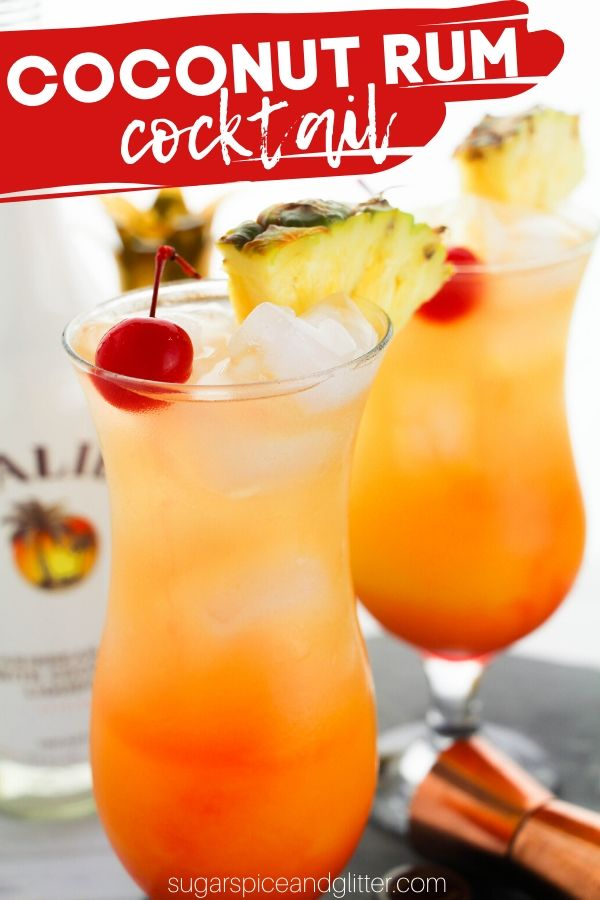 Coconut Rum Punch With Video Sugar Spice And Glitter