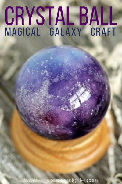 Magical Crystal Ball Craft
