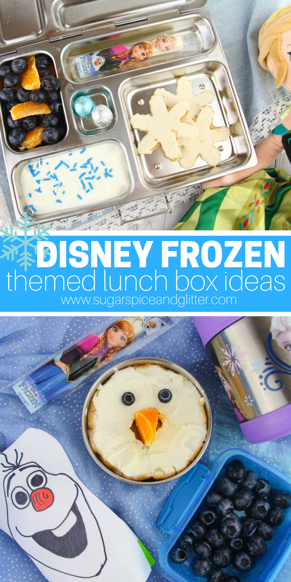 Cute Lunch Box Idea For Kids We Have 5 Awesome Disney Frozen Ideas