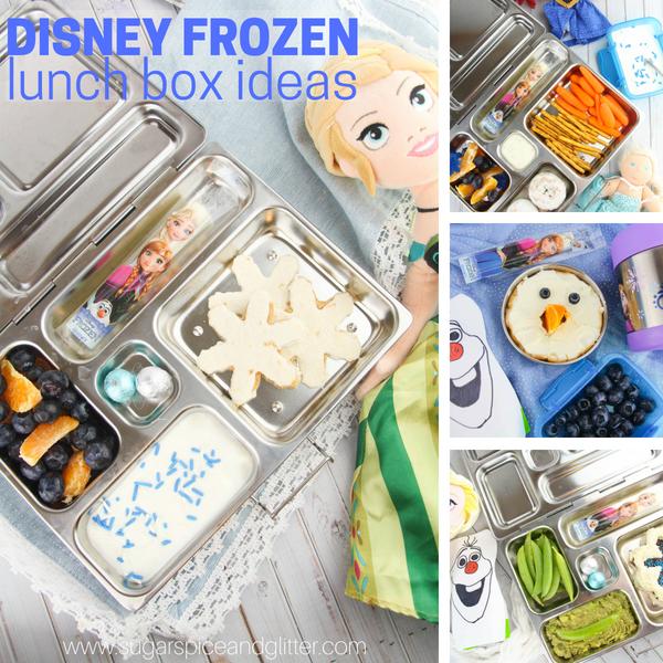 Disney Frozen Lunch Box Ideas Sugar Spice And Glitter
