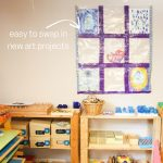 Duck Tape Art Display Quilt (with Video)
