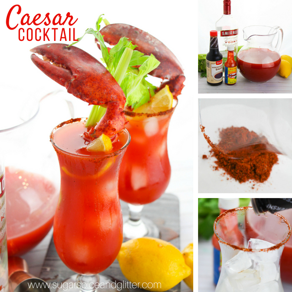 Canadian Caesar Cocktail Sugar Spice And Glitter