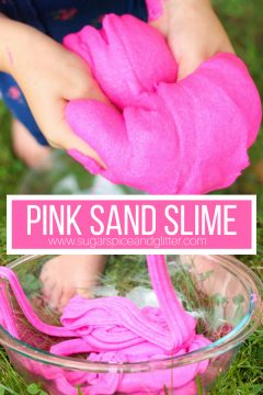 Pink Sand Slime (with Video)