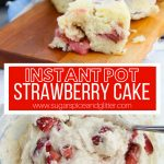 Instant Pot Strawberry Cake
