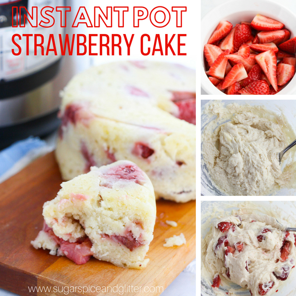 How to make a delicious and super simple cake in the instant pot!