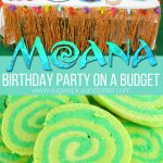 Moana Birthday Party on a Budget