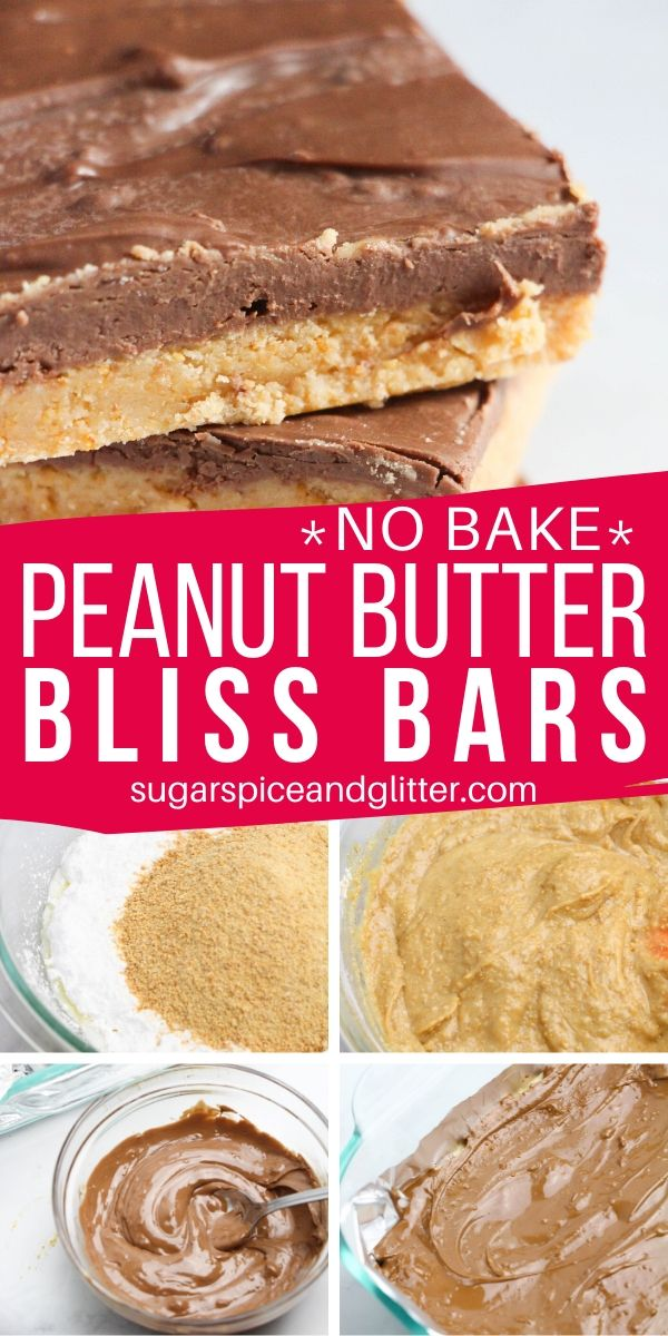 These decadent no-bake peanut butter dessert bars are THE BEST peanut butter chocolate dessert, and so simple, kids can help make them