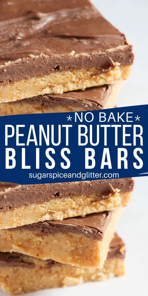 You will not believe how delicious these no bake peanut butter chocolate dessert squares are - and only 10 minutes to make