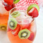 Strawberry Kiwi Rose Punch (with Video)