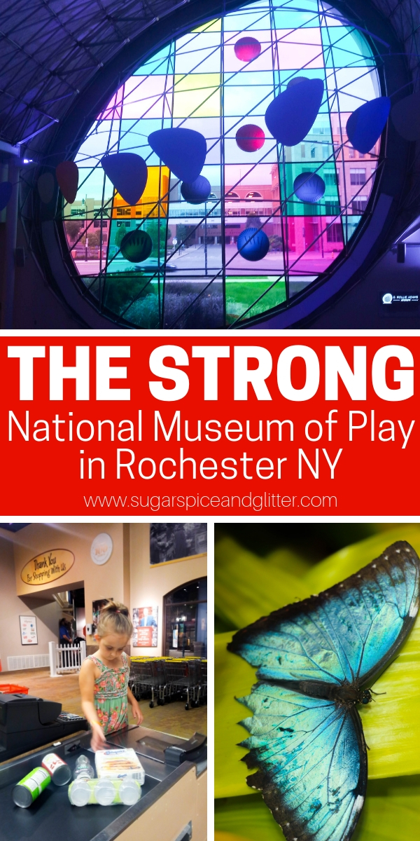 One of the best family museums you will ever visit, The Strong National Museum of Play in Rochester NY is must-do bucket list material for fun-seeking families who like to mix learning and play.