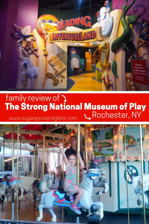 One of the best family museums in America, the Strong National Museum of Play in Rochester NY is a family travel destination that everyone will love