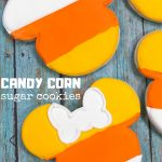 Mickey Mouse Candy Corn Cookies