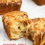 Caramel Apple Crumb Cakes