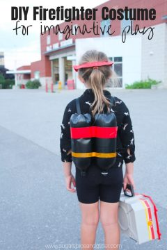 DIY Firefighter Costume for Kids