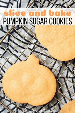 Pumpkin Slice and Bake Cookies (with Video)