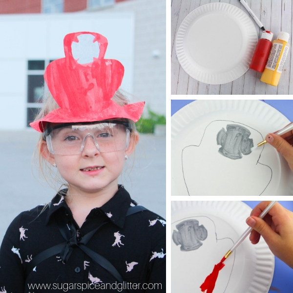 DIY Firefighter Costume for Kids ⋆ Sugar, Spice and Glitter