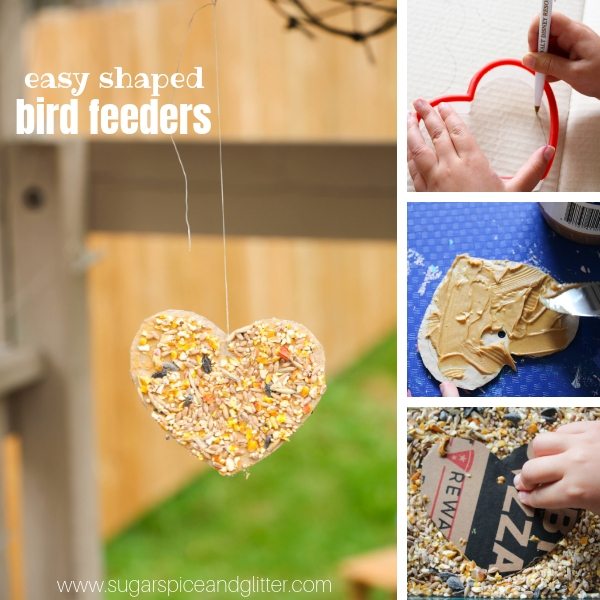 How to make the EASIEST bird feeder ever with materials you already have at home
