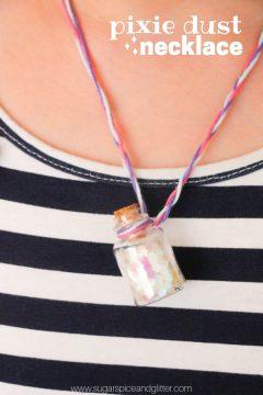 Pixie Dust Jar Necklace
