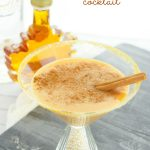 Creamy Pumpkin Pie Cocktail