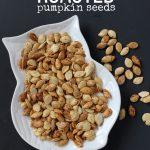 Cinnamon Roasted Pumpkin Seeds