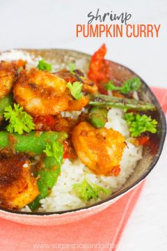 Shrimp Pumpkin Curry