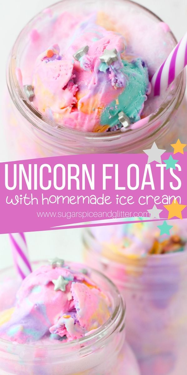 A magical recipe for kids, this Unicorn Ice Cream Float is a fun unicorn drink recipe perfect for a unicorn party or family movie night